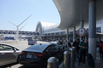 初めてのロサンゼルス出発編:成田発JAL62便搭乗、Uberでシェラトングランドへ