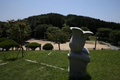 2019年7月 エアプサンで行く韓国・釜山の夜景と釜山競馬場(2)天馬山と甘川洞文化村編