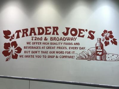 3度目のニューヨーク 3日目 アウトレット、Trader Joe's