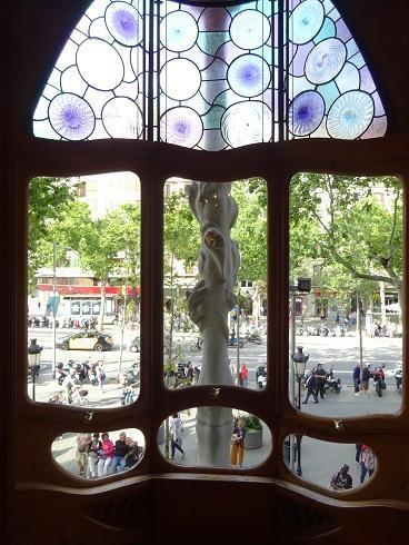 2度目のバルセロナの街へ