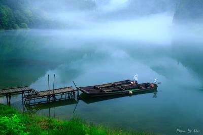 絶景に感動!感激!! 夏の奥会津と五色沼 (3) まさに夢の世界、美しすぎる霧幻峡