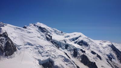 スイス周遊10日間 6つの名峰と6つの絶景列車の旅 5日目  名峰④モンブランとフレンチアルプスの大パロラマの旅