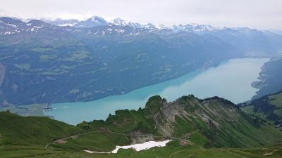 スイス周遊10日間 6つの名峰と6つの絶景列車の旅  6日目  名峰⑤プリエンツロートホルンと絶景列車④プリエンツロートホルン鉄道の旅