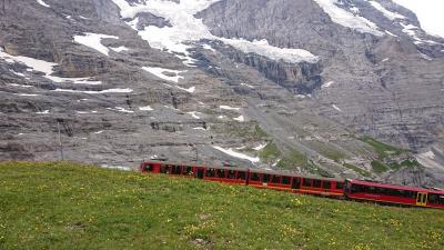 スイス周遊10日間 6つの名峰と6つの絶景列車の旅 7日目  名峰⑥ユングフランと絶景列車⑤ユングフラウ鉄道の旅