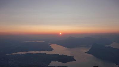 スイス周遊10日間 6つの名峰と6つの絶景列車の旅 9日目最終日 山岳ホテルベルビューと ピラトゥス展望台からサンライズ チューリッヒ~成田
