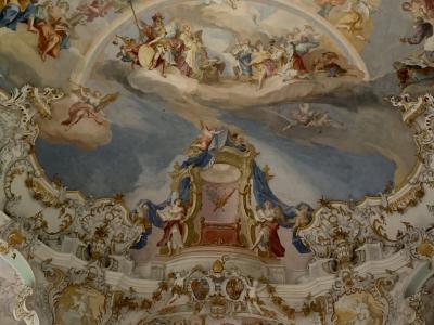 バイエルンチケットで、ロマンチックにお城とヴィース教会まで行ってきたよ!