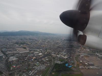 2019.07 夏の青森!(2)ANA1854便・プロペラ機で行く青森空港