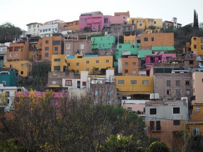 グアナファトの街歩きと銀鉱山のバレンシア