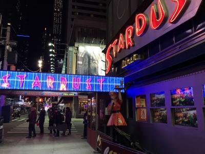 3度目のニューヨーク 5日目 クリスマススペクタキュラー、MOMA、エレンズスターダストダイナー