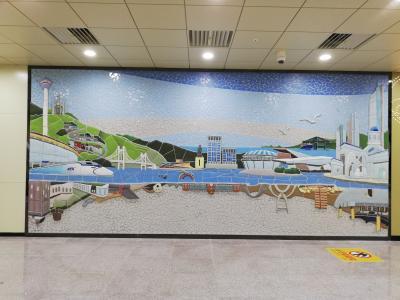 釜山駅の地下連絡通路