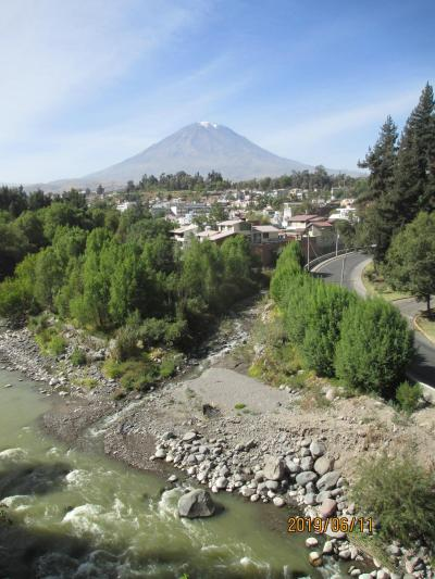 ペルー富士、快適風土のグルメ旅