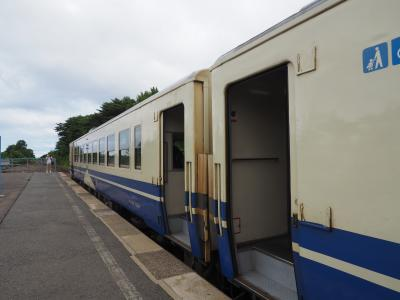 2019.07 夏の青森!(7)バスと鉄道を乗り継ぎ、龍飛岬から青森へ戻ってきた