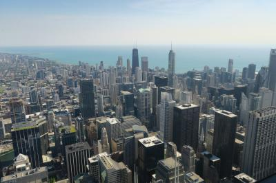 2019 3泊5日のJALビジネスクラスで行くシカゴ(3日目 シカゴ美術館、クラウドゲート、グラントパーク、シカゴ川散策)