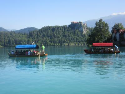 麗しきスロベニア・ブレッド湖
