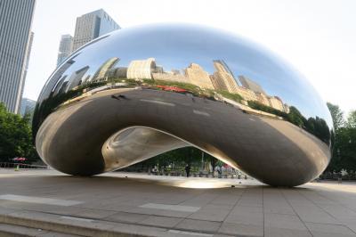 2019 3泊5日のJALビジネスクラスで行くシカゴ(4日目&最終日 クラウドゲート、オヘア空港)