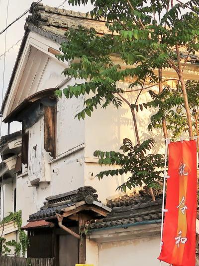 信州令和70 上田b  柳町・旧北国街道-宿場町-面影残し ☆保命水を復元/兵馬俑もあり