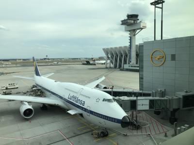 ルフトハンザドイツ航空利用でWürzburg まで