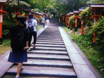 日帰り京都 山登り編