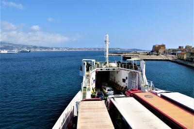 魅惑のシチリア×プーリア♪ Vol.31 ☆ヴィッラ・サン・ジョヴァンニ:カーフェリーで憧れのシチリア島へ♪
