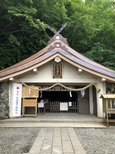 1泊2日 戸隠神社5社&諏訪大社4社参りの旅 1日目