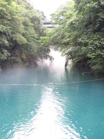 奥四万湖~桃太郎の滝~四万甌穴群の3種類の四万ブルーを楽しんできました!