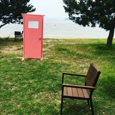 琵琶湖でグランピング!
