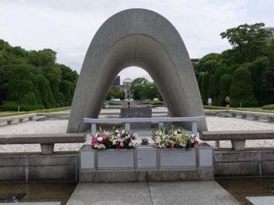 2019夏 ほぼ45年ぶりの広島へ。平和記念公園、穴子に牡蠣