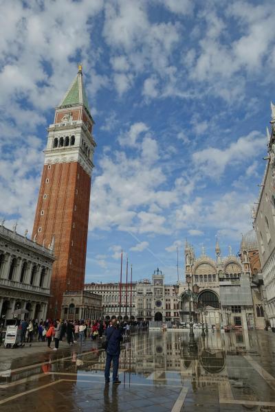 2018年ヨーロッパ旅行:初イタリアは水の都!ヴェネツィアの海と空