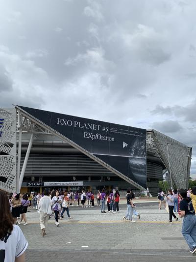 EXOソウルコンを観に行く旅 2019夏