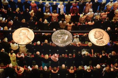JAL特典でストックホルムマラソン&魅惑の初ロシア(6)1年後のノーベル博物館♪