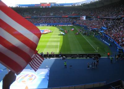 リタイア68歳初パリ一人旅⑬(12日目バスチーユ/女子サッカーワールドカップ)