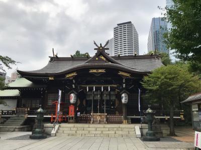 2019年7月 夏詣 新宿十二社 熊野神社参拝