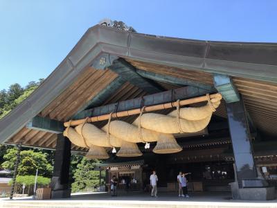 出雲大社、足立美術館、松江城