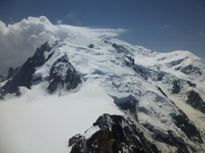 2019初夏のスイス8日間の旅5日目エギーユ・ドゥ・ミディ展望台で高山病になりかける