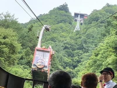 マダム二人の修学旅行その3~はとバスでシャインマスカット&桃のダブル狩りと河口湖富士山パノラマロープウェイ