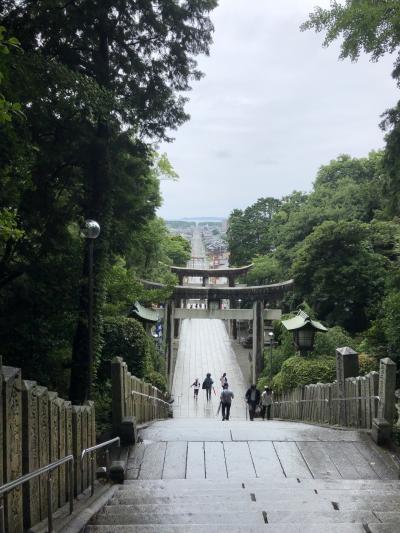 念願の宗像大社と、宮地嶽神社、そして、関門海峡を渡って長府の旅①