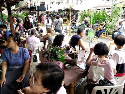 Chiang Mai生活123(7月)JJ Organic Market, Auctionなど
