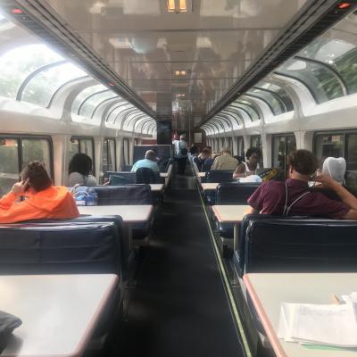 Amtrak Capitol Limited号 18時間列車旅