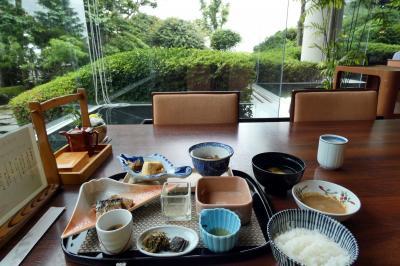 05.梅雨のエクシブ山中湖1泊 エクシブ山中湖 日本料理 花木鳥の朝食