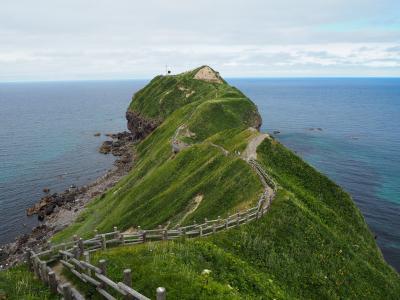 路線バスで行く積丹半島の神威岬への観光