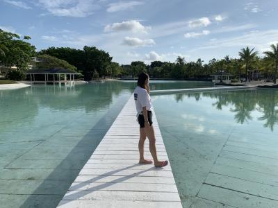 セブ島 父と娘 海とプールで遊ぶ旅【プランテーション ベイ リゾート】1日目