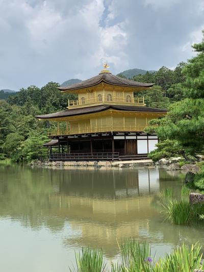 夏始まった?暑すぎた京都お散歩旅。金閣寺(鹿苑寺)編。