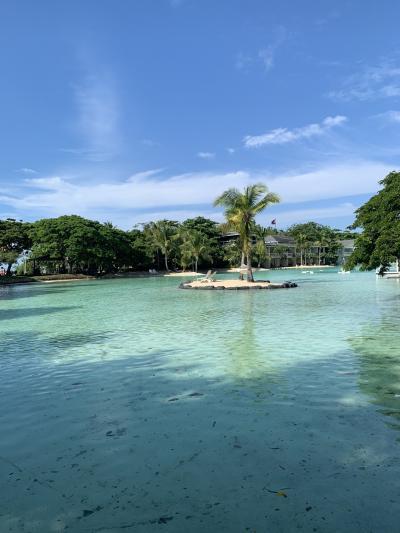 セブ島 父と娘 海とプールで遊ぶ旅【プランテーション ベイ リゾート】2日目