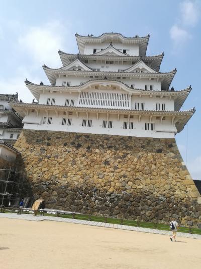 青春18切符で姫路城いってきました。