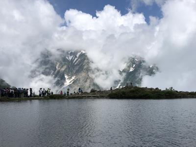 信州・白馬 ハイキング 7日間の旅 4日目 八方池
