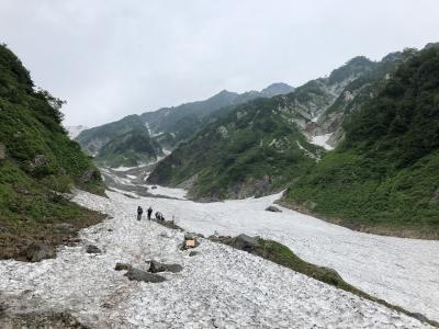 信州・白馬 ハイキング 7日間の旅 5日目 白馬尻 大出吊り橋 姫川源流