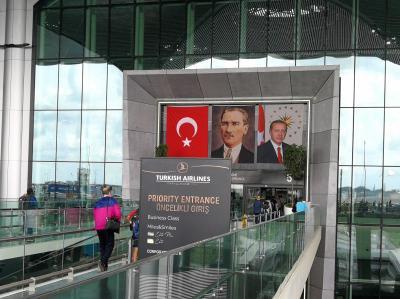 """南フランス夏旅!その2~往路・イスタンブールからニースへ・""""Touristanbul""""とTK新ラウンジ~2019年7月"""