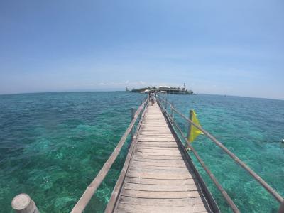 セブ島 父と娘 海とプールで遊ぶ旅【プランテーション ベイ リゾート】3日目