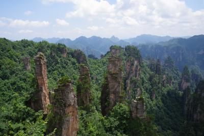 2019年7月10日後半夏の一時帰国休暇 武陵源天子山自然保護区編