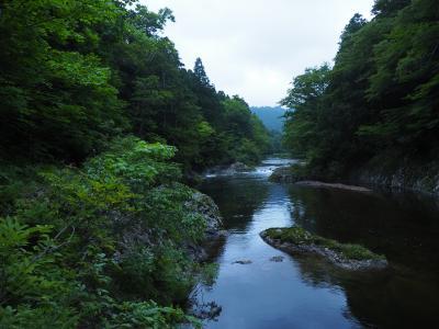 2019.07 夏の青森!(16)森の中の温泉宿。薬研温泉民宿あすなろにて味噌貝焼き。